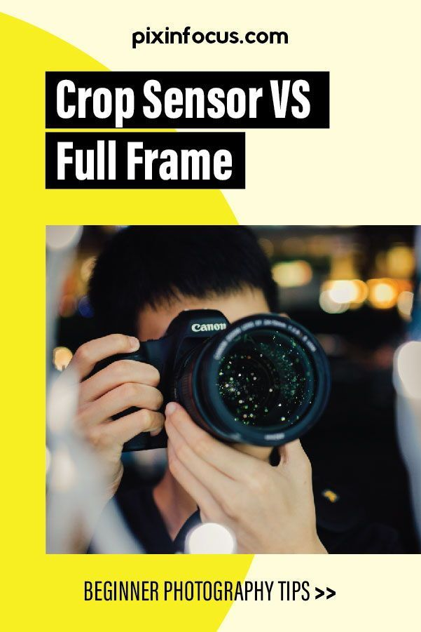 Crop Sensor Vs Full Frame Which One Is Best For You In 2020 Dslr Photography Tips Photography For Beginners Photography Tips For Beginners