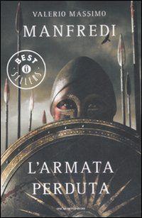 Libro L' armata perduta Valerio M. Manfredi