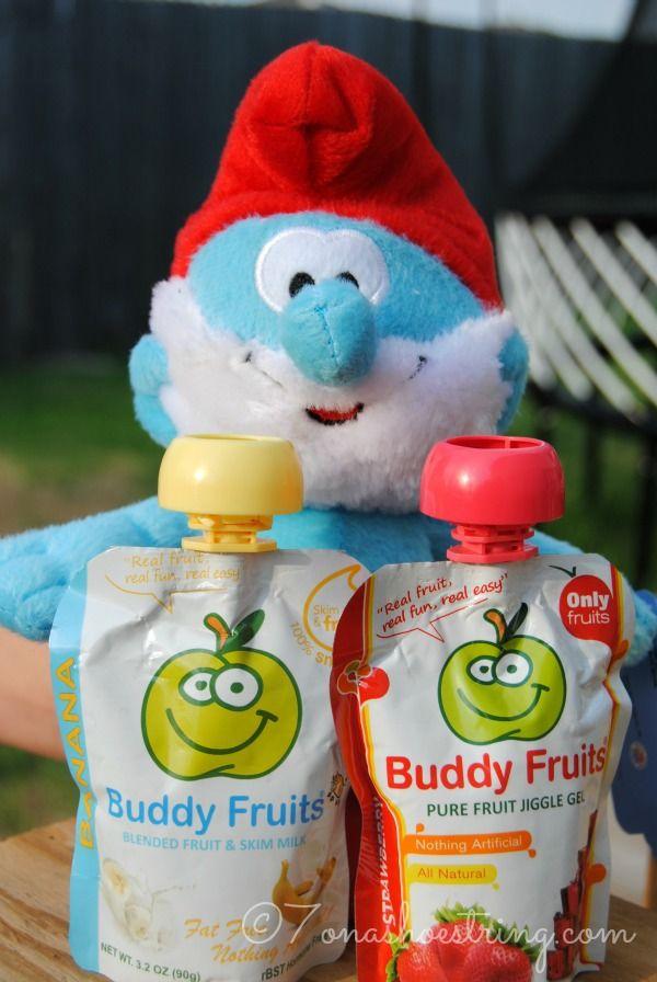 Buddy Fruits and Smurfs 2 Want to Send You to Paris #BuddyFruitsSmurfs2