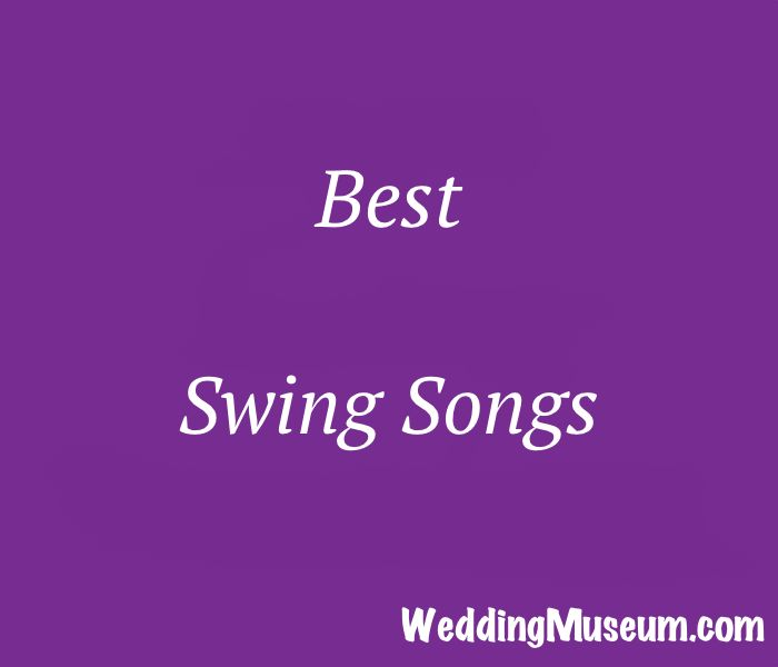 See our list of the best swing songs. Swing dances include west coast swing, east coast swing, shag, jitterbug, shim sham, jive and the linty hop.