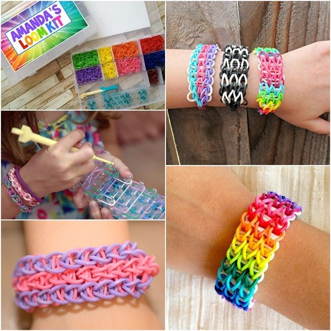 1000 ideas about rubber bands on pinterest rubber band for Rubber band crafts without loom
