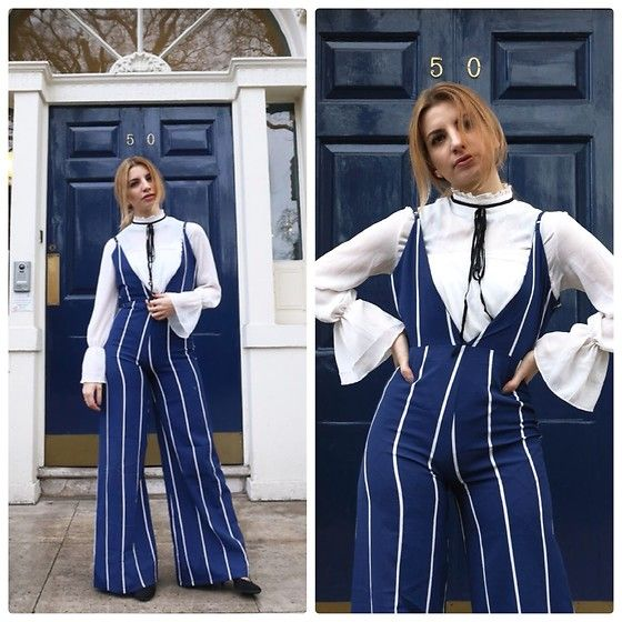Get this look: http://lb.nu/look/8617487  More looks by Vane ❀: http://lb.nu/anevgrung  Items in this look:  Gamiss Jumpsuit   #chic #classic #elegant #ootd #blogger #london #fashionblogger #fbloggers #fashion