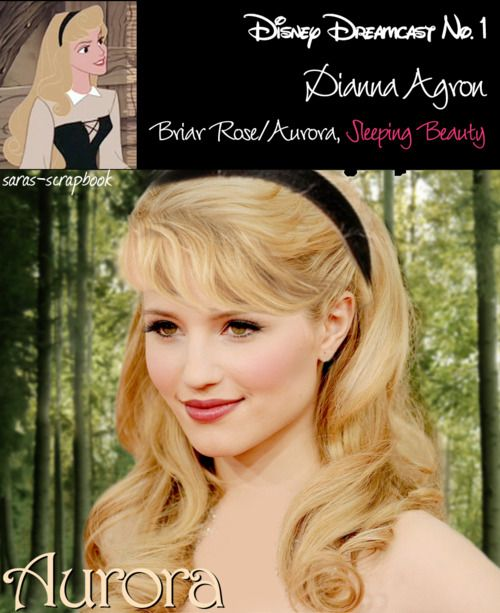 yes!!!!: Sleep Beautiful, Dreams Cast, Disney Dreamcast, Disney Princesses, Disney Dreams, Dianna Agron, Diana Agron, Disney Character, Disney Movie