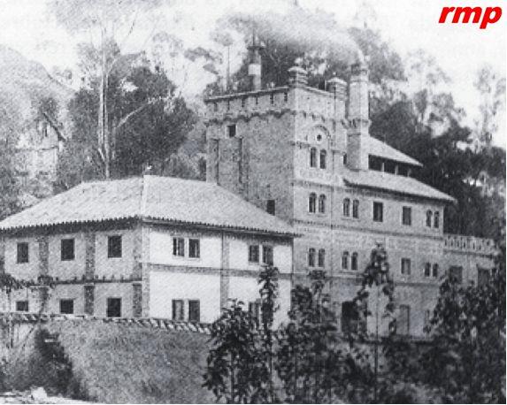 Cervecería Germania 1906 - Bogotá - Foto: Libro José Galindo Díaz