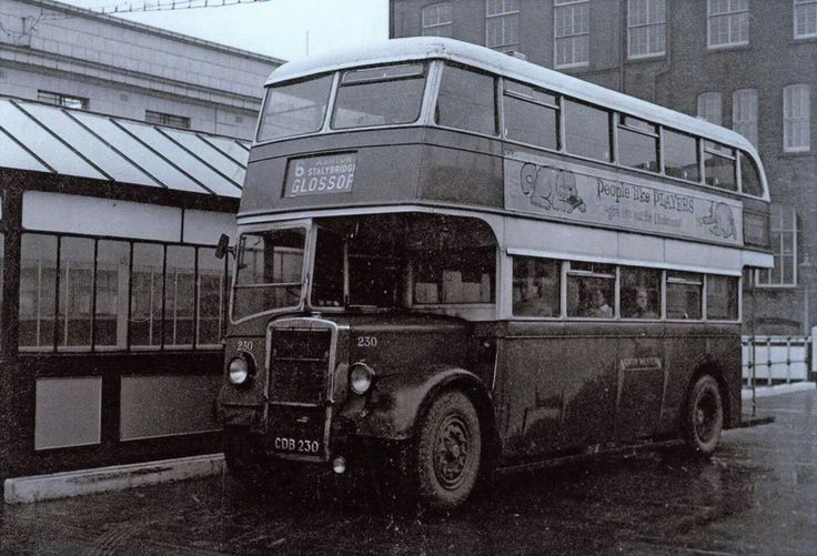 Lower Mosely Street bus stn. Manchester. North Western Road Car 230. Glossop Depot.