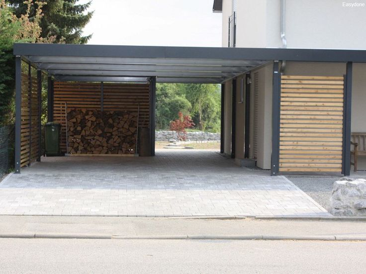 Best 25 2 car carport ideas on pinterest carport for Carport ou garage