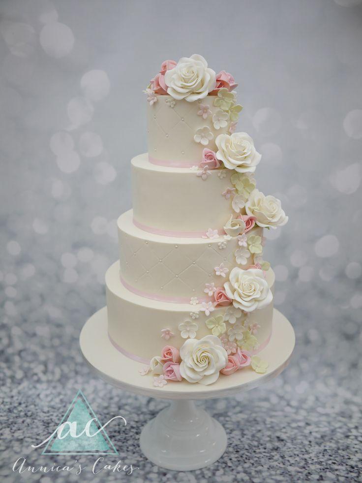 bruidstaart cascade