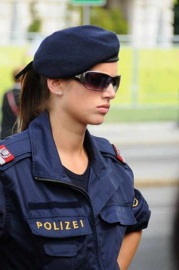 Heiße polizistin