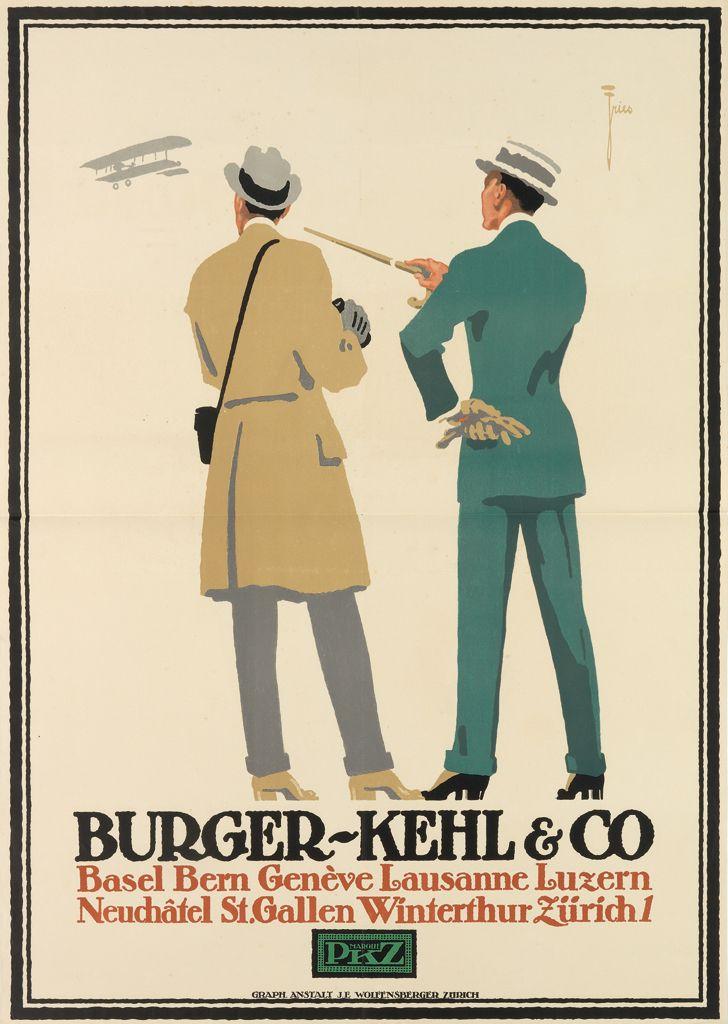 Burger - Kehl & Co. / PKZ, 1916