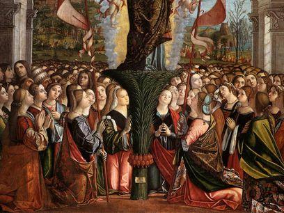 Apoteosi di sant'Orsola, dettaglio