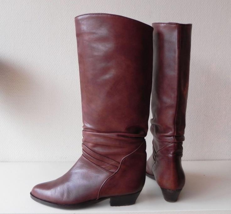 vintage cavallerie boots laarzen #vintage #boots #cowboy