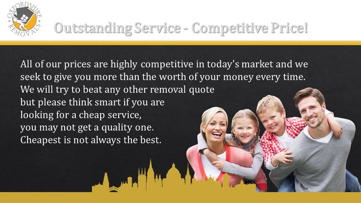 Outstanding Service - Competitive Price! Oxfordshire Removals Man and Van Services