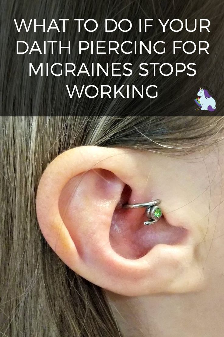 2 Years Of Migraine Relief Tattoos And Piercings Migraine Relief