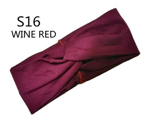 headband wine red