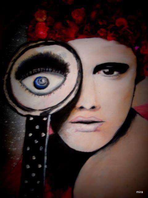 canvas/ acrylic paint