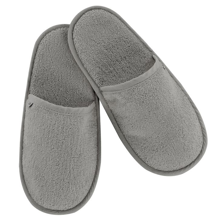 Abyss Spa Bath Robes And Slippers Gris 920 Slippers