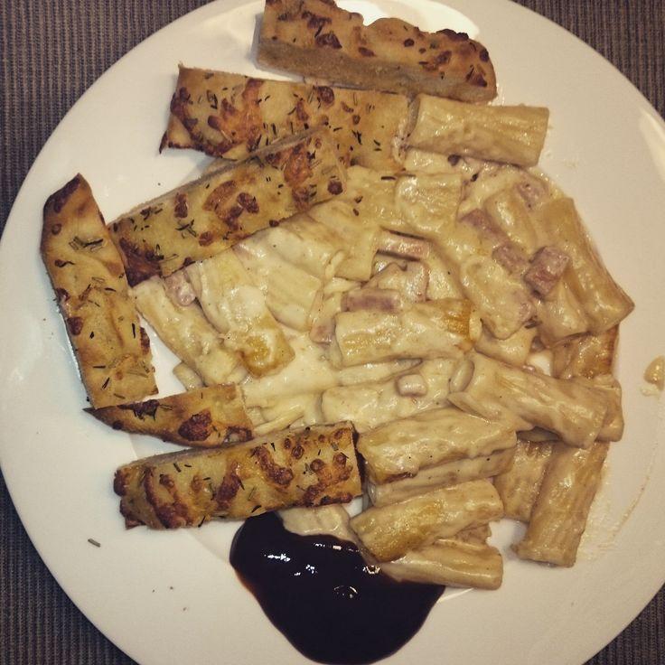 Smokey Garlic Pasta #recipe #recept #vegetarisch #vegetarian