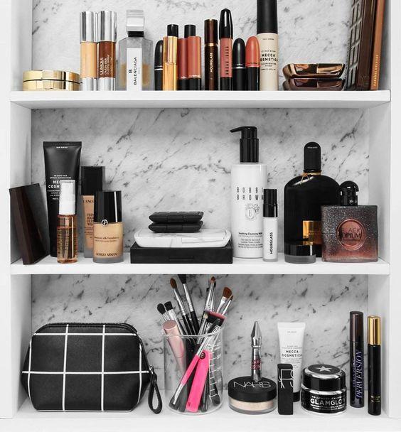 Genius Ikea Hacks For Organizing Your Makeup