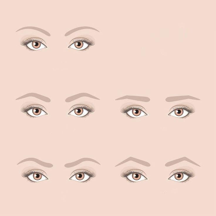 422 best maquillage make up images on pinterest - Les sourcils parfaits pour votre visage ...