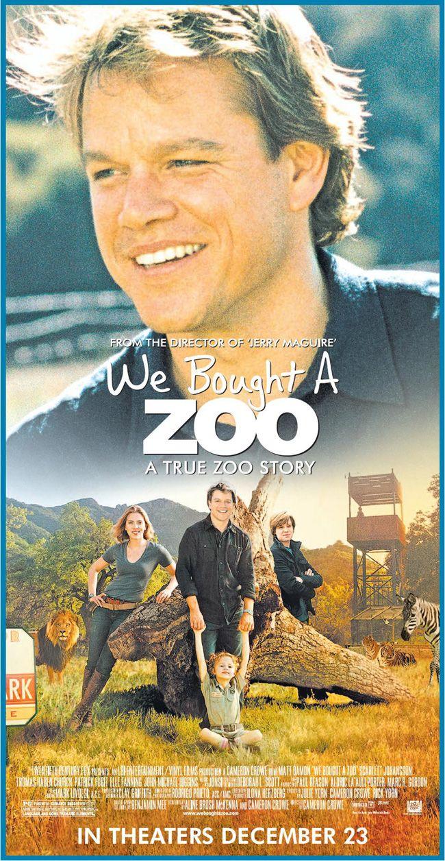 We Bought A Zoo with Matt Damon and Scarlett Johansson