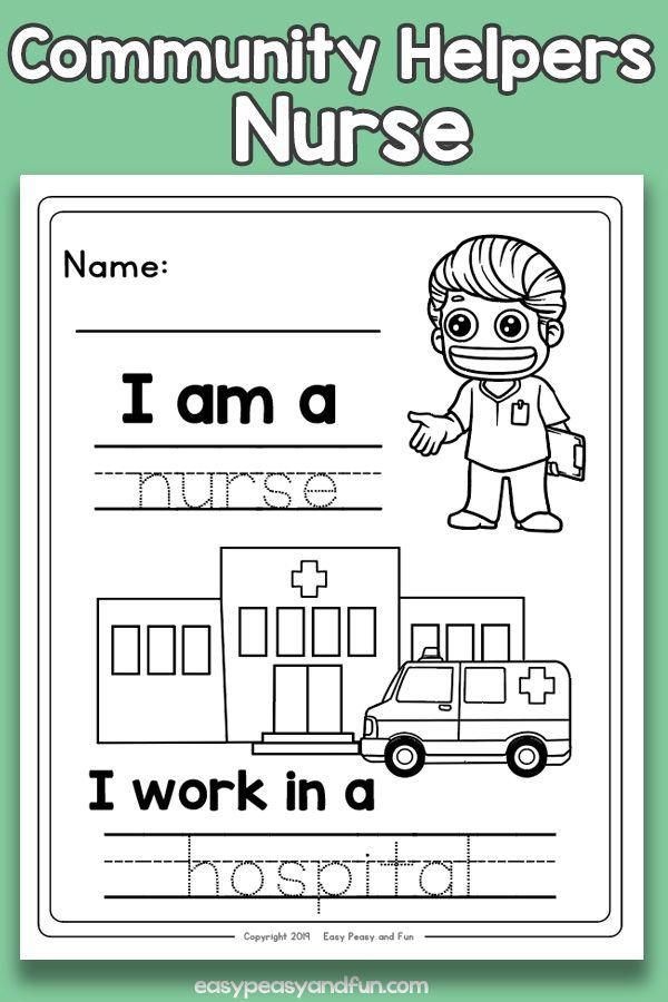 Community Workers Nurse Worksheets Community Helpers Worksheets Community Helpers Nurse Community Workers Community helpers worksheets for kindergarten