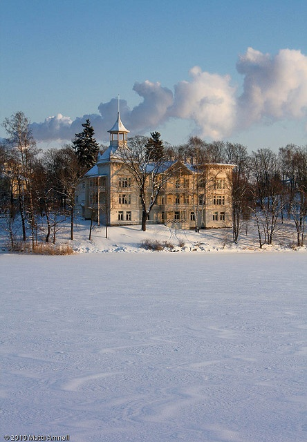 Villa Kivi. The countryside in downtown Helsinki, Finland