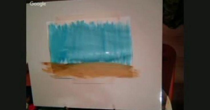 Рисование двумя руками. Светлана Веремейцева.avi