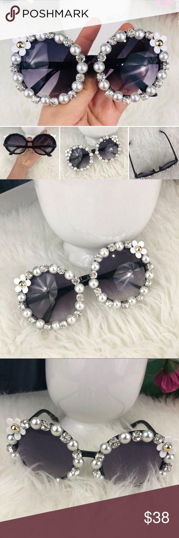 Óculos de sol da moda Óculos de sol novos, fofos e modernos, com pérolas …   – My Posh Picks