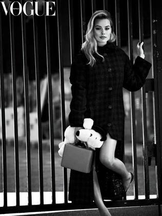 Margot Robbie for VOGUE.
