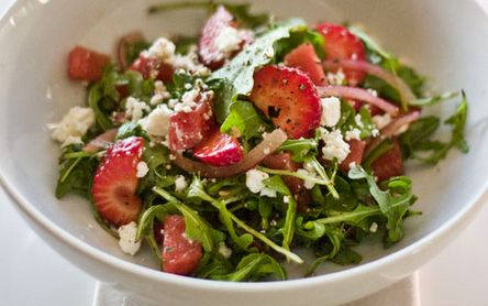 Watermelon Recipes - Strawberry & Watermelon Salad
