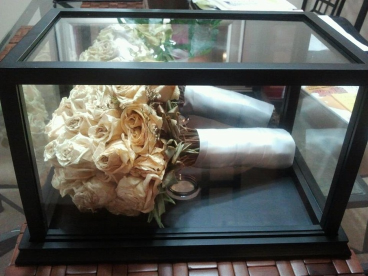wedding bouquet display case wedding bouquet display using a football display 8451