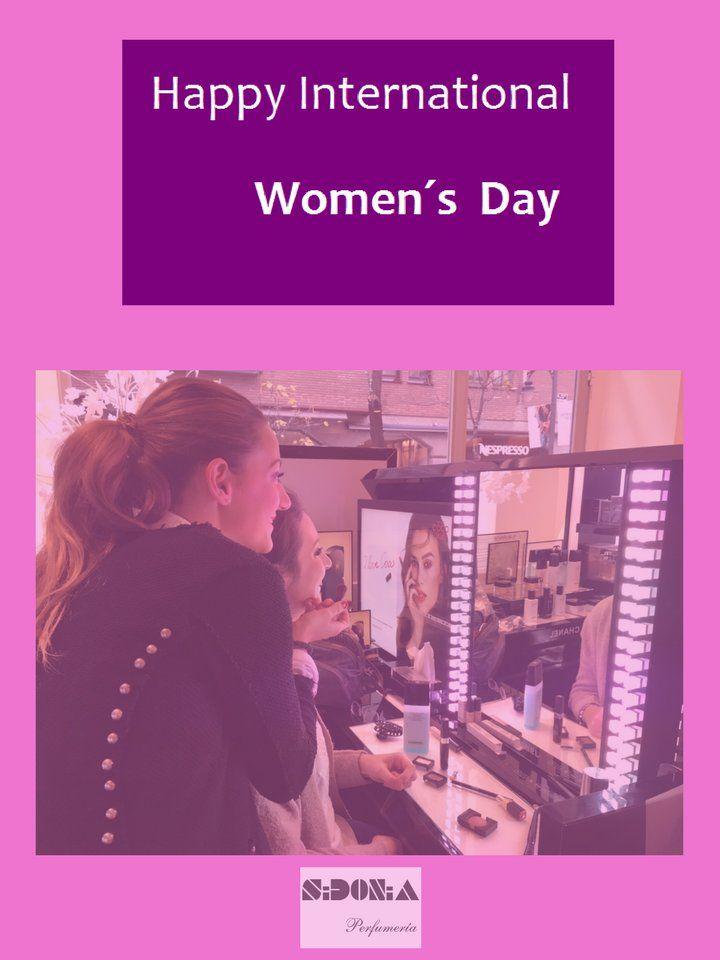 ¡SIDONIA os desea Feliz Día Internacional de la Mujer!