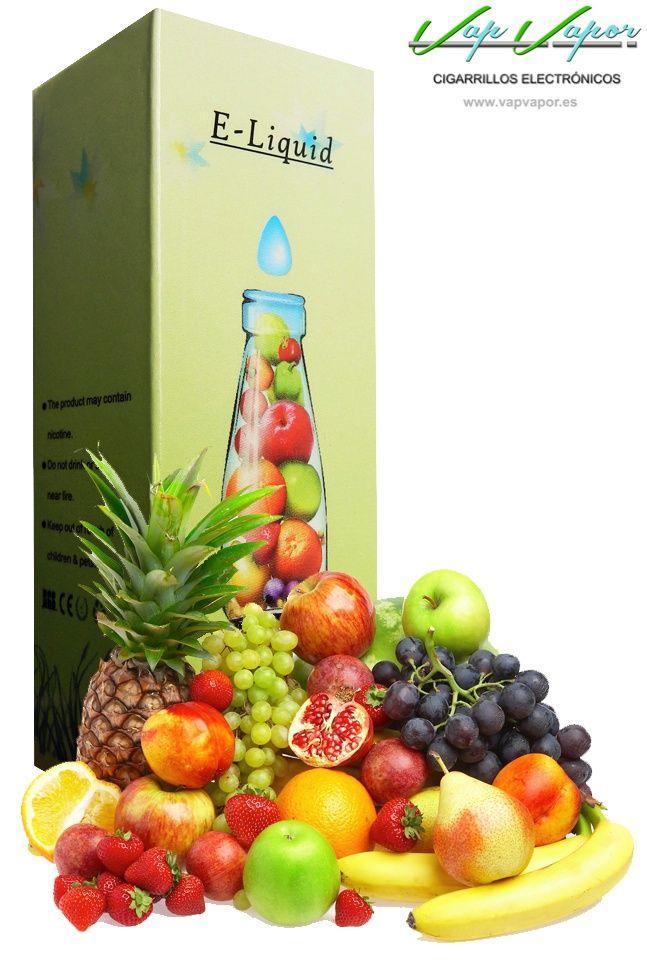 e-liquid Tuti Fruti  http://www.vapvapor.es/liquido-frutas-cigarrillo-electronico  Líquidos para cigarrillos electrónicos de la marca e-liquid. Nuestra marca e-liquid se caracteriza por su gran variedad de aromas y sabores.     - e-liquid sabor Tuti Fruti (afrutado)     - Categoría: frutas