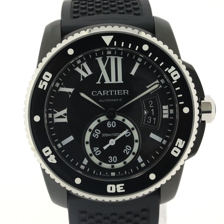 【商品名】カルティエ(Cartier) 3729 WSCA0006 カリブル カリブルドゥカルティエ オートマチック SS(ADLC) ラバー メンズ ブラック文字盤時計【価格】¥768,000【状態】S 未使用展示品等、新品に非常に近い綺麗な状態の商品です。