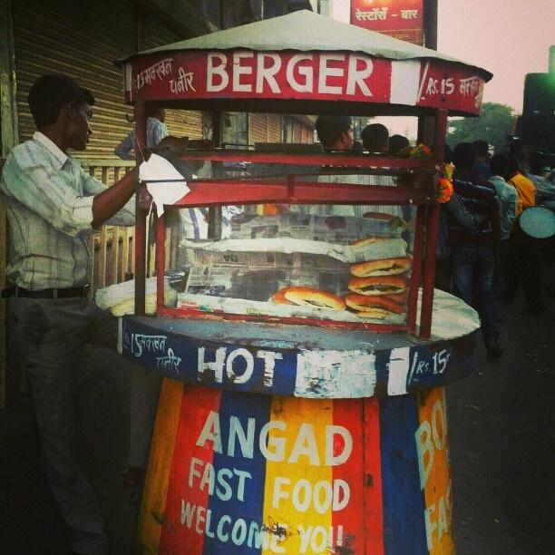 Indian Street Food: Burger King Clone