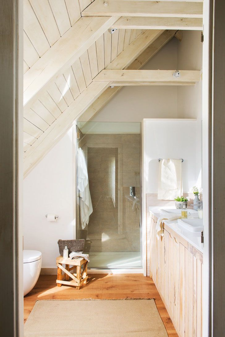 small attic bathroom pinterest - 1000 ideas about Small Attic Bathroom on Pinterest