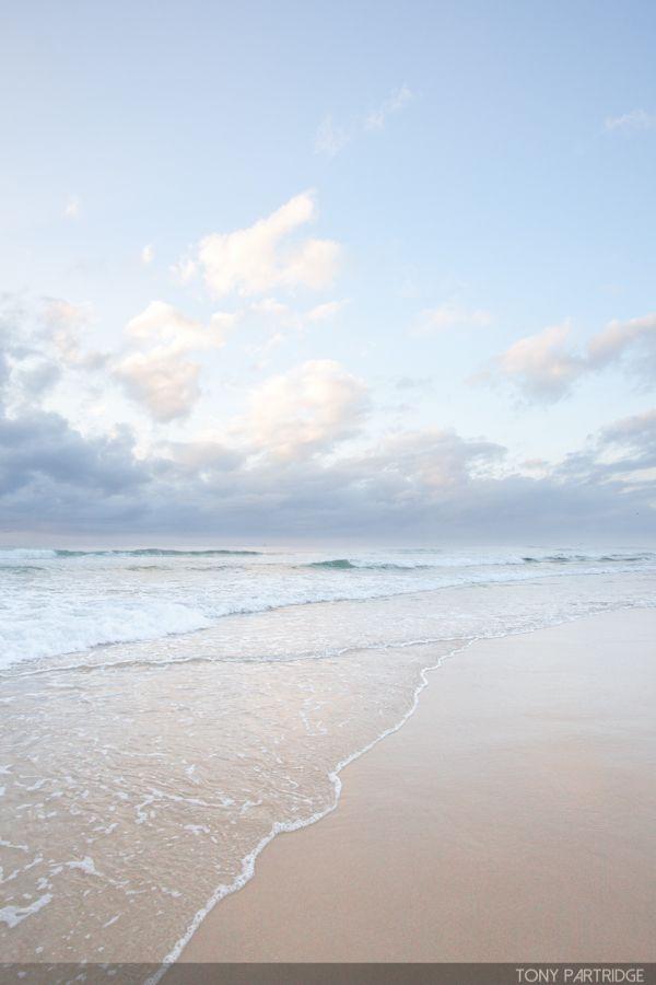 Calming colours of a beach sunrise #photography #beach #seascape