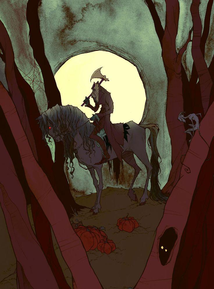 The Headless Horseman by AbigailLarson.deviantart.com on @deviantART