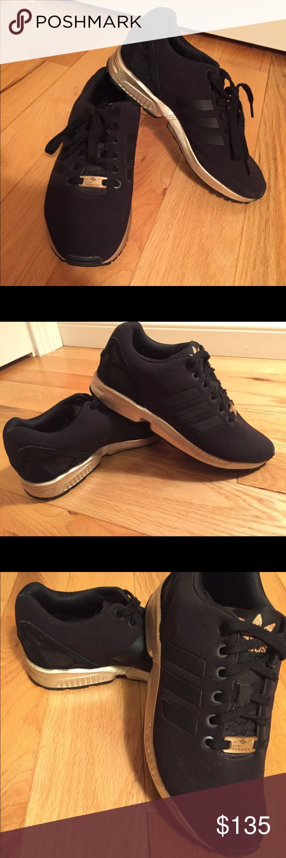 Adidas ZX Flux - LIMITED EDITION Adidas ZX Flux - Black & Rose Gold - LIMITED ADDITION - Authentic - Women's Size 7 - Excellent condition! - Worn only 4-5 times - Very Rare - Box not included ADIDAS ZX FLUX Shoes Athletic Shoes