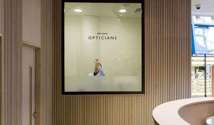 John Lewis Opticians – design concept by Household