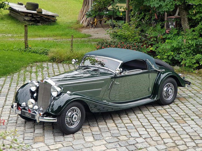 Classic 1938 Mercedes Benz 320 For Sale 2398127 516 500 Riedering Germany For Decades In Last Ownership Older German Quality Benz Mercedes Benz Mercedes