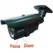 "1/3"" Color CMOS, 600TVL,  Lens: 2.8-12mm   36pcs Φ8 IR Led,  Night vision distance: 50MIR Waterproof Camera 3-Axis bracket Gray case"