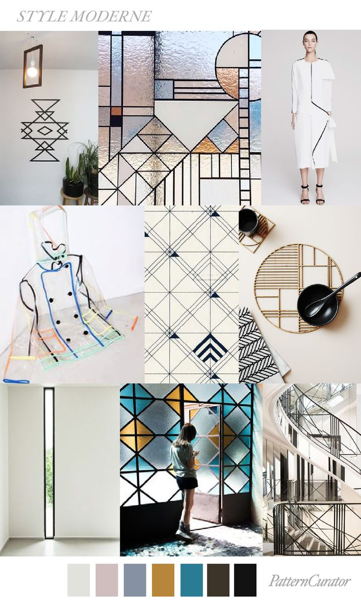 STYLE MODERNE by PatternCurator