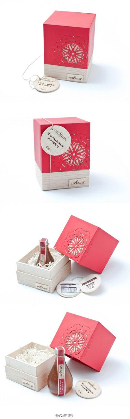 Very pretty Tualang honey #packaging PD