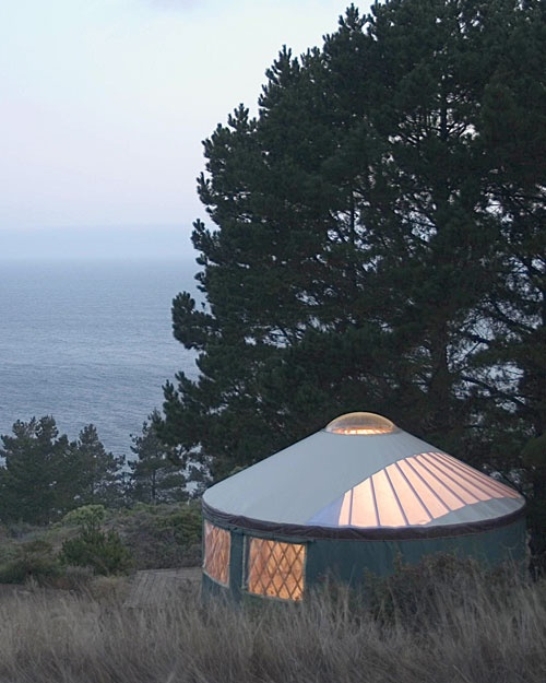 """""""Our favorite yurt hotels"""" - Whole Living"""