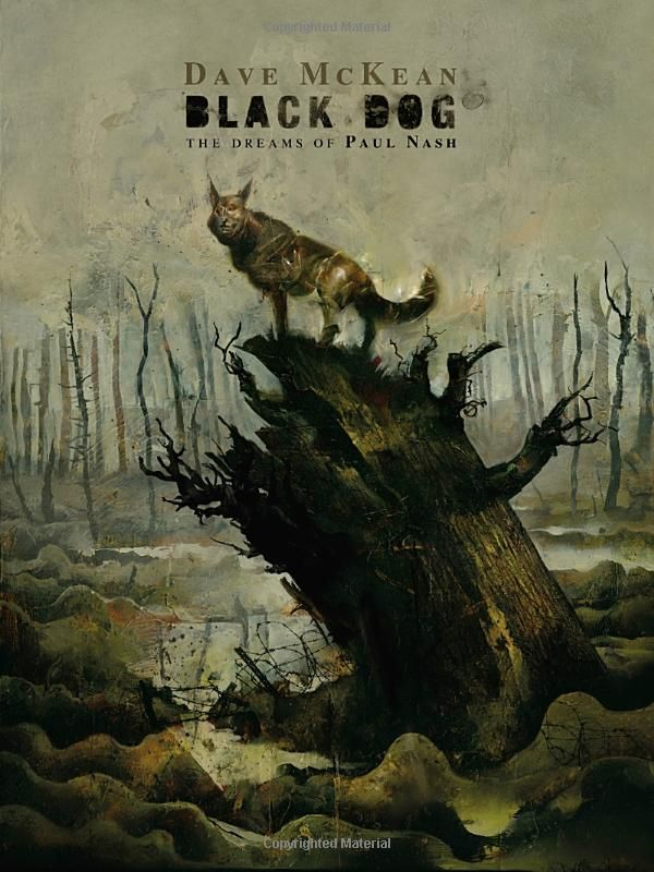 Black Dog: The Dreams of Paul Nash: Dave McKean: 9781506701080: AmazonSmile: Books