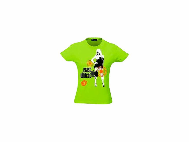 T Shirt High School Musical Green East High Wildcats, grün, Größe L