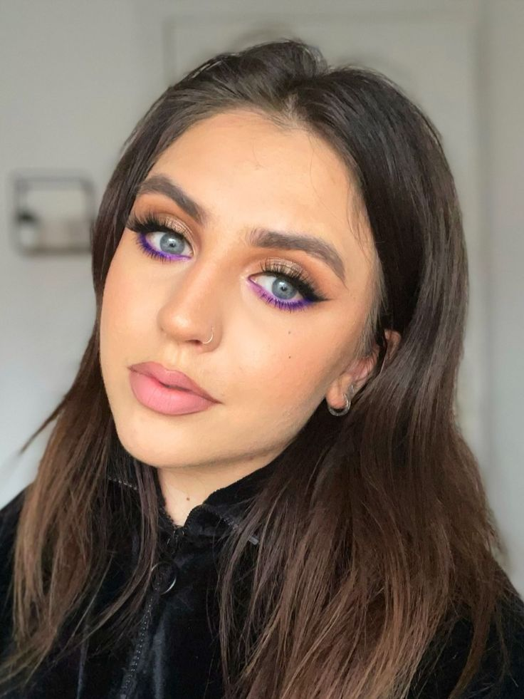 Under-eye bright eyeshadow