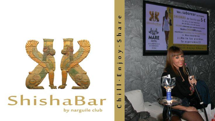 Sara Abad, shishagirl profesional de la marca.
