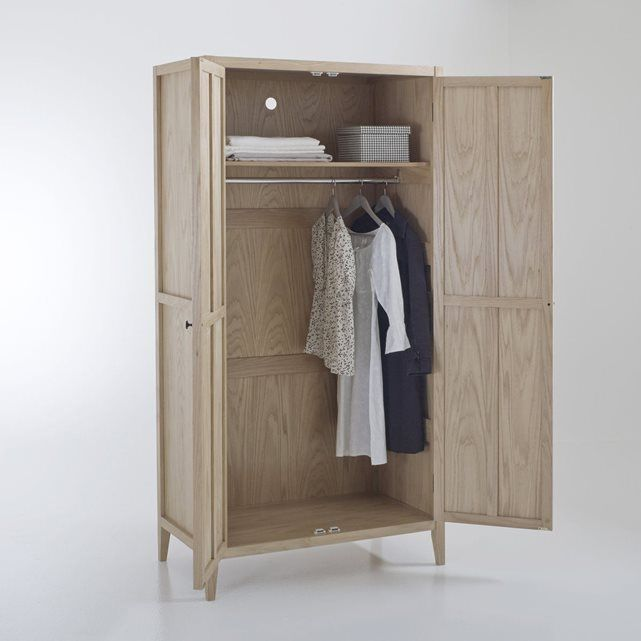 image armoire penderie portes eugnie la redoute interieurs with ikea armoire 2 portes. Black Bedroom Furniture Sets. Home Design Ideas